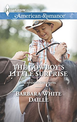 book cover of The Cowboy\'s Little Surprise