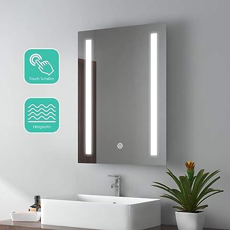 EMKE Modello 2 Specchio da Bagno con Illuminazione a LED