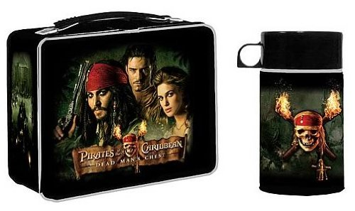 Pirates of the Caribbean Dead Man's Chest Lunch Box [Toy] [Toy] ()