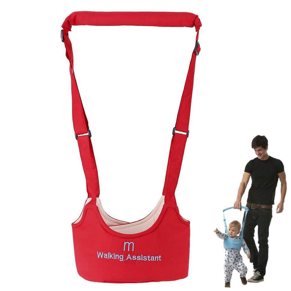Yellow Kasstino Handheld Baby Walker Toddler Walking Assistant Helper Kid Safe Walking Protective Belt Child Harnesses