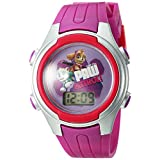 Nickelodeon  Girl's PAW Patrol Digital Display Plastic Paw Patrol Pink Watch Patrol PAWKD16030CTS