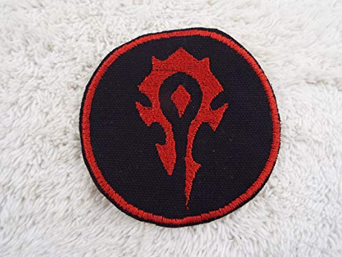 (World of Warcraft HORDE Emblem Embroidered Iron-on)