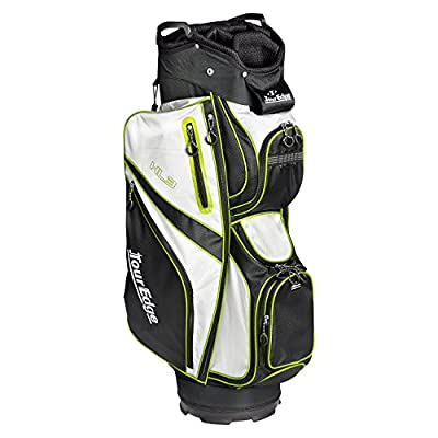 Tour Edge Unisex UBAHKCB05 HL3 Golf Cart Bag Black/Silver/Lime
