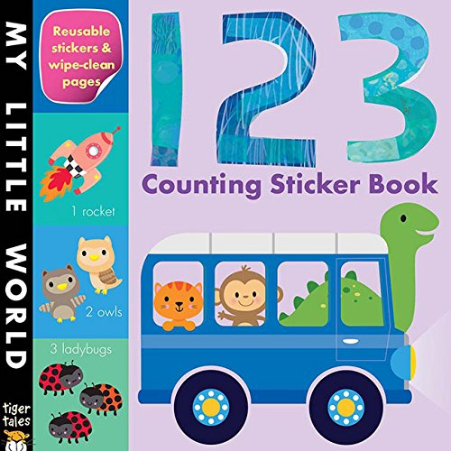 Airplane Alphabet Book - 123 Counting Sticker Book (My Little World)
