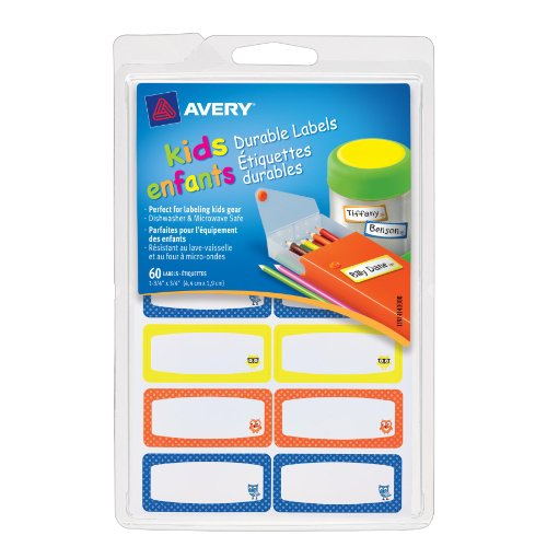 Avery Durable Labels Assorted 41430