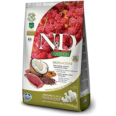 Farmina N&D Functional Quinoa Skin & Coat Duck Dry Dog Food 15.4 Pounds