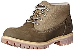 Timberland Mens 6-Inch Campsite Black Leather Boots 8 US