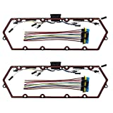 #7: 98-03 Ford red color Powerstroke Diesel Valve Cover Gasket Set Ford Powerstroke 7.3L