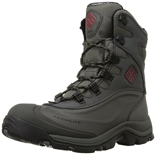 Columbia Men's Bugaboot Plus III Omni Cold Weather Boot, Charcoal/Bright