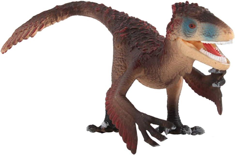 NUOBESTY Dinosaurios Realistas Figuras Dinosaurios Jurásicos Indominus Rex Juguetes Modelos Dinosaurios Amantes Regalos de Cumpleaños