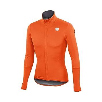 Sportful Fiandre Light Norain LS - Camiseta, Color Naranja ...