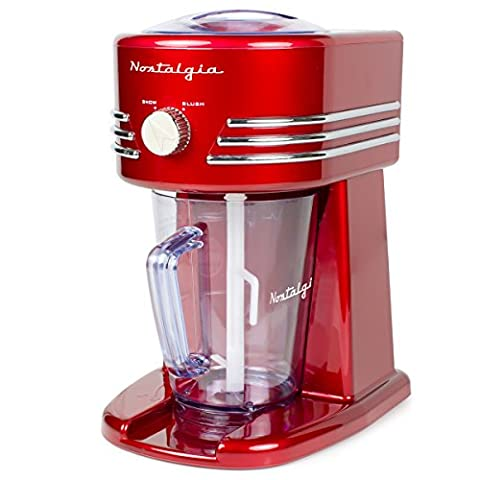 Nostalgia FBS400RETRORED Retro 40-Ounce Frozen Beverage Station