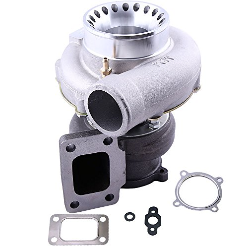 (Universal GT35 GT3582 Turbo Turbocharger T3 Flange 4 Bolts .7A/R .63 A/R 600HP for all 4/6 cylinder and 3.0L-6.0L engines)