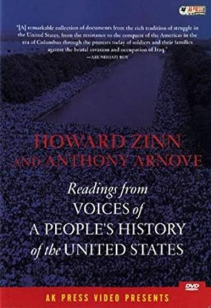 Amazon Zinn Howard Voices Of A Peoples History Of The Usa