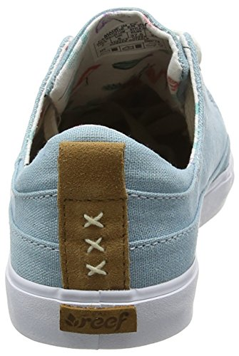 Blue Walled Basse Donna Ginnastica Scarpe Blu Steel Low da Reef Girls 5vqwa6