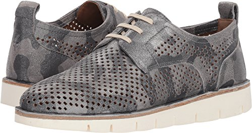 Trask Metallic Suede Womens Lena Camo Pewter aT0a6qnr