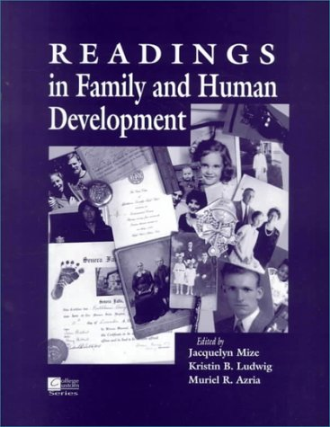 Readings in Family and Human Development