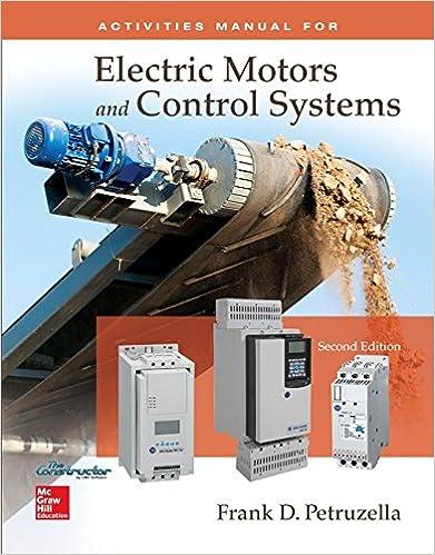 Electric Motors And Control Systems Frank Petruzella