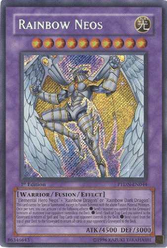YuGiOh Legendary Collection 2 : Rainbow Neos (Super Rare)