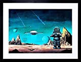 The Art Stop Film Robby Robot Forbidden Planet Space Stars SCI FI Frame Print Picture F12X551