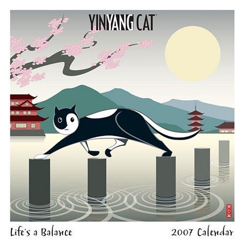Yin Yang Cat 2007 Wall Calendar ()