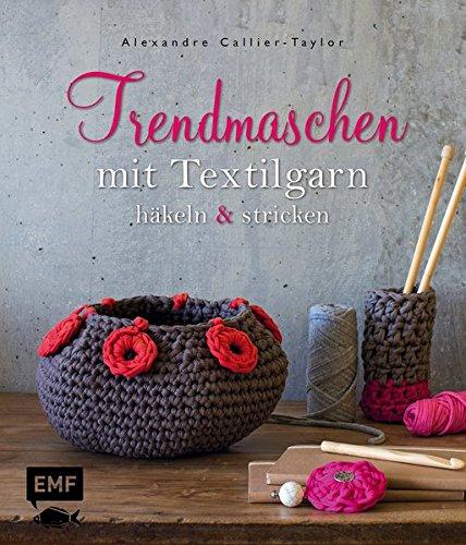 Amazonfr Trendmaschen Mit Textilgarn Hooked Zpaghetti Häkeln