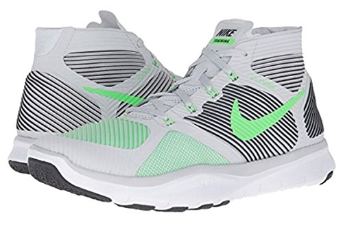 Nike Free Train Instinct Chaussures De Formation Croisée Pour Hommes Pur Platine / Rg Grn-blk-wht