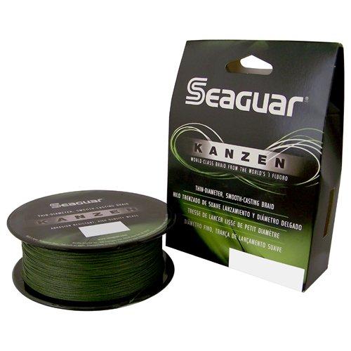 Seaguar Kanzen 300-Yards Green Braided Line (80-Pounds), Outdoor Stuffs