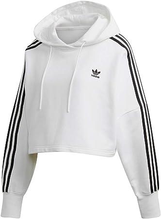 adidas Cropped Hood Sweat Shirt Femme