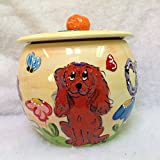Treat Jar. Personalized at no Charge. Signed by Artist, Debby Carman.