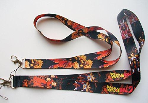 2 pc Dragon Ball Z Phone KeyChain LANYARD Set #2
