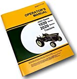 John Deere 1020 2020 Tractor Owners Operators Manual Gas Diesel Catalog Hu Lu