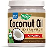 Natures Way Organic Extra Virgin Coconut Oil, 32 Ounce