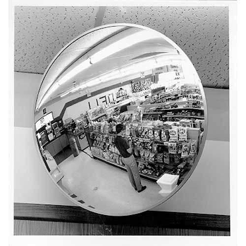 30'' Indoor/Outdoor Polycarbonate Convex Circular Mirrors (H214130HD)