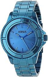 Versus by Versace Men's SGM020013 Tokyo Stainless Steel Blue Sunray Dial Luminous Hands Watch