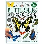 Ultimate Sticker Book: Butterflies