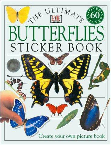 Read Online Ultimate Sticker Book: Butterflies pdf epub