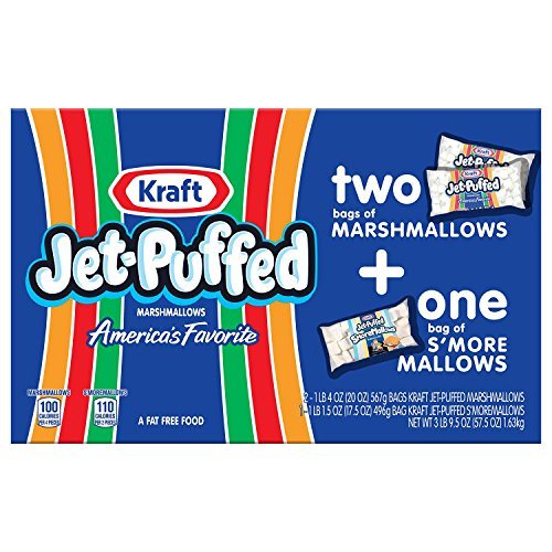 Kraft Jet-Puffed Marshmallows Multipack (3 pk.) (pack of 6) by Kraft