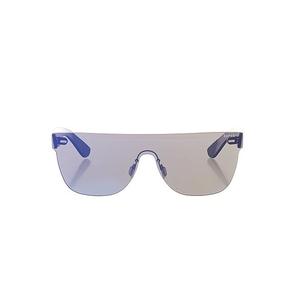 0555d042fe Image Unavailable. Image not available for. Colour   quot NEW quot   Retrosuperfuture Tuttolente Flat Top Blue Sunglasses Super-P2T