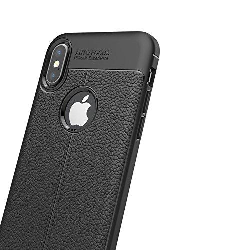 Mecaweb ÉTUI COQUES FLIP COVER CASE PLASTIQUE RIGIDE POUR APPLE iPhone X