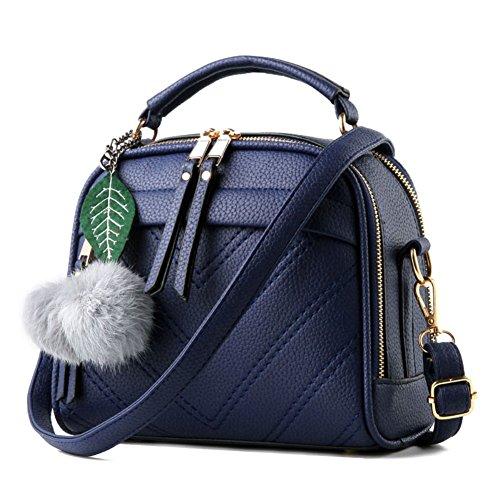 Fantastic Zone Women Leather Handbags Shoulder Bags Top-handle Tote Ladies - Ladies Vinyl Handbag
