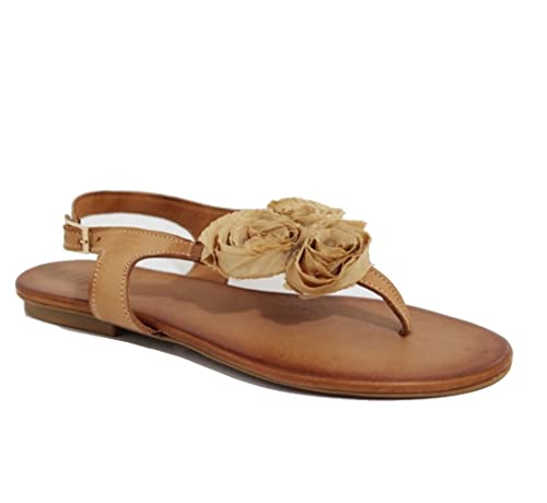 Beige Sandals Women's By Fashion Lucchi Ovye Cristina dEQWrBxoCe