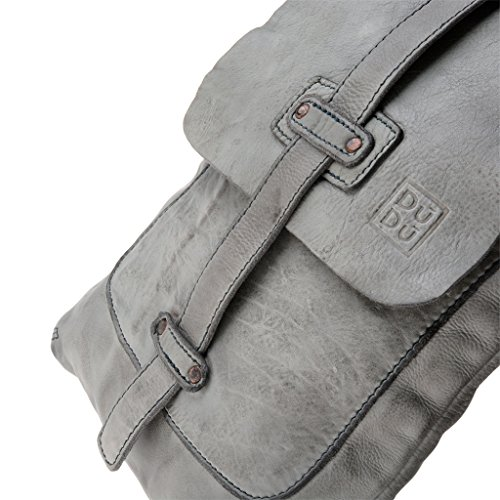 compact Gris 1089 Piel al hombre hombro Bolso 580 23 DuDu para gris de 6xqSw7HnW