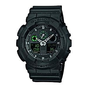 Casio Reloj Analogico-Digital para Hombre de Cuarzo con Correa en Resina GA-100MB-1AER 8