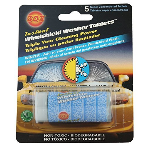 303 (230390) Instant Windshield Washer, 5 Tablet by 303 Products