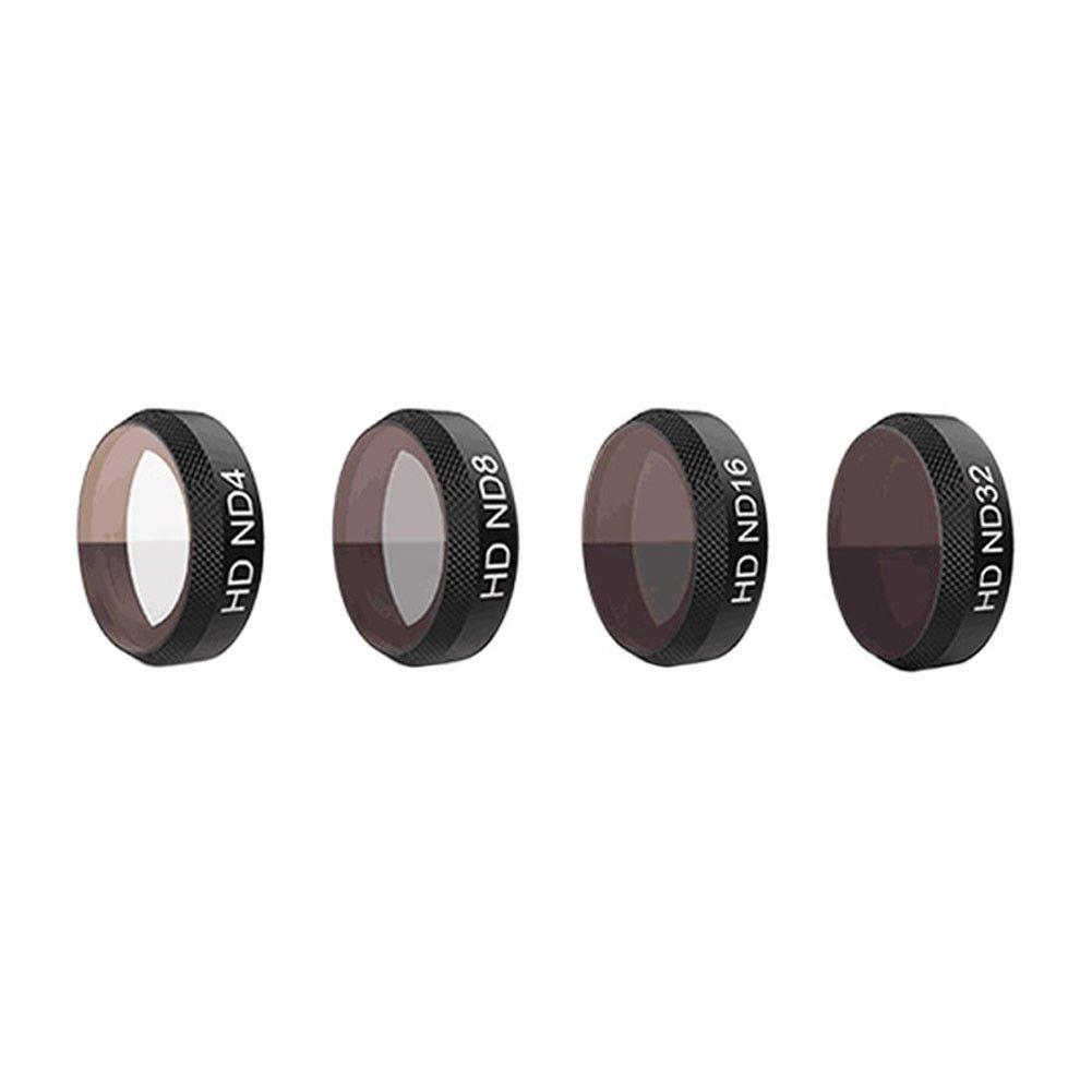 Deylaying ドローン ドローンフィルター レンズフィルター 高質量フィルター 高解像度 for DJI Mavic Air フィルター6セット B07BVQFVBG ND4+ND8+ND16+ND32 ND4+ND8+ND16+ND32