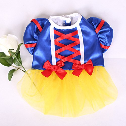 Colorfulhouse 174 Princess Puppy Dress Small Pet Apparel