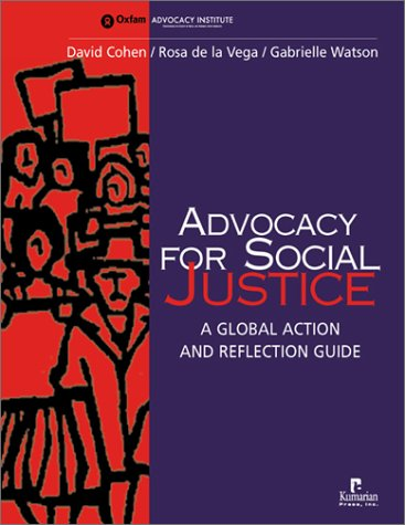 Read Online Advocacy for Social Justice: A Global Action and Reflection Guide PDF