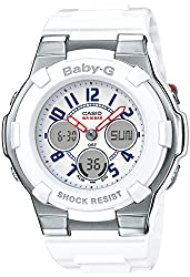 CASIO BABY-G White Tricolor Series BGA-110TR-7BJF Women's Watch JAPAN IMPORT