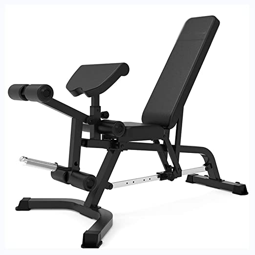 OhLt-j Banco de gimnasio, silla de pesas for el hogar, banco de ...